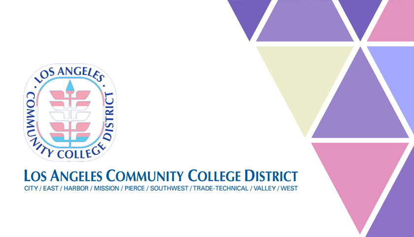 The Los Angeles Community College District Logo