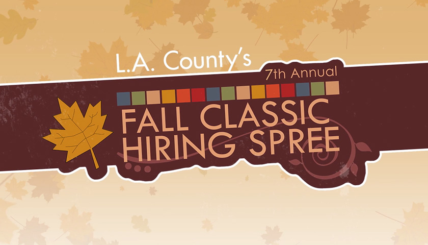 Logo for the Fall Hiring Spree