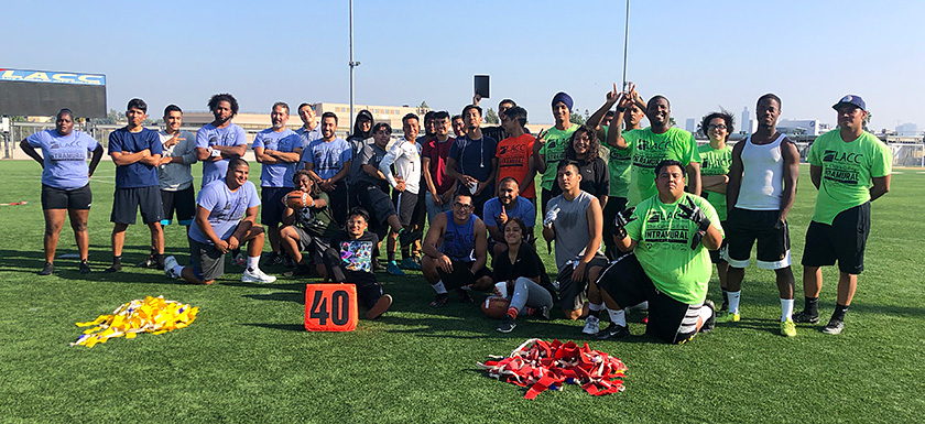 The LACC Intramural Flag Football League