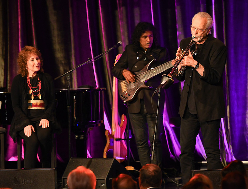 A live performance by multi-Grammy award winning musician Herb Alpert and singer Lani Hall