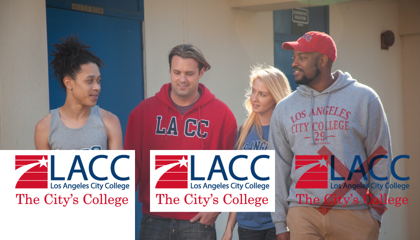 Examples of proper and incorrect use of the LACC logo with images.