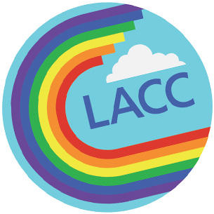 The LACC Models of Pride logo