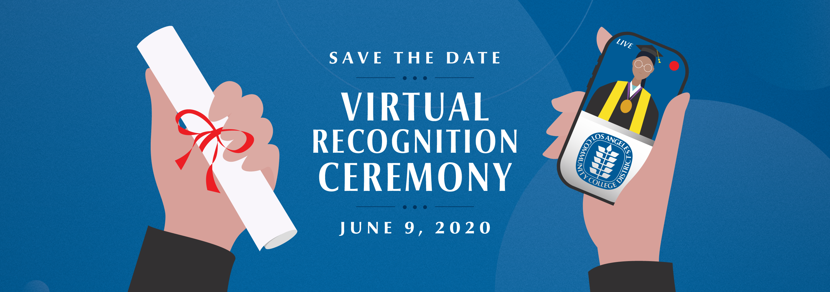 The Spring 2020 Virtual Recognition Ceremony